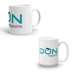 DUN Magazine Coffee Mug